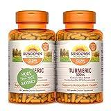 Sundown Turmeric 500mg 90 + 90 Twin Pack Herbal Supplements, 180 Count
