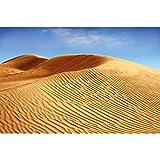 GREAT ART® XXL Poster – Wüsten Dünen –Wandbild
