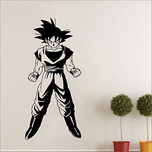 yaonuli Anime teken gevecht pose wandtattoo slaapkamer teenkamer anime fan decoratie vinyl muursticker