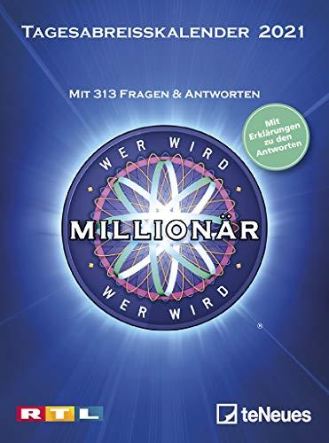günstig Wer möchte 2021 Millionär werden?  Abnehmbarer Tageskalender – 11,8 × 15,9 – Puzzle-Kalender – Puzzle-Kalender -… Vergleich im Deutschland