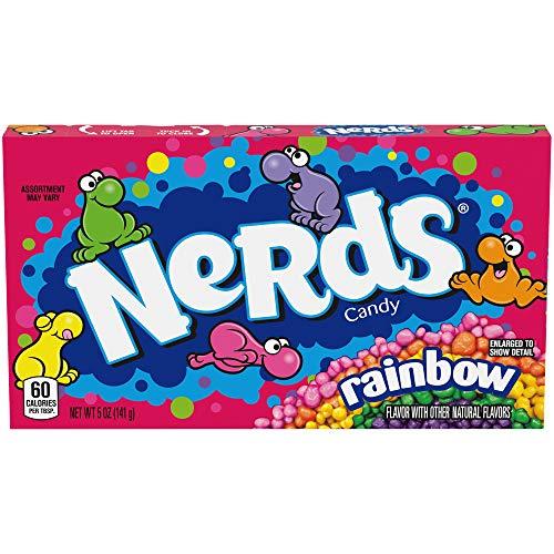 Wonka Rainbow Nerds, 5 Oz. Box (Pack of 6)