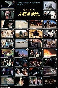 Trends International Star Wars Episode IV Frames Wall Poster 22.375  x 34