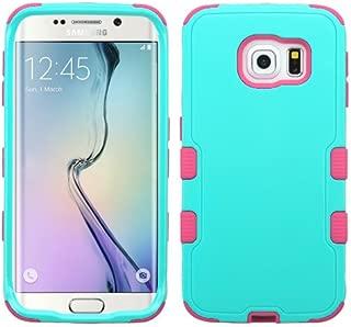Wydan Case for Samsung Galaxy S6 Edge - TUFF Hybrid Hard Shockproof Case Heavy Duty Protective Cover