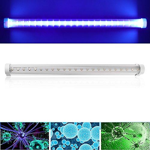 Winbang Luz LED UV, Lámpara de Desinfección de 30 cm Lámpara Ultravioleta Germicida