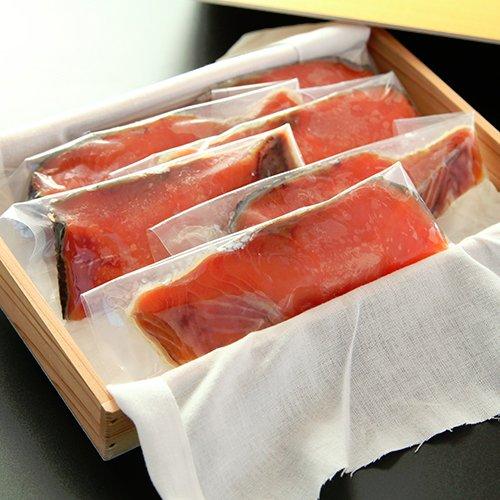 塩引鮭切り身 100g×6パック にいがた石山