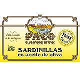 SARDINILLAS EN ACEITE DE OLIVA, 22 PIEZAS, PACO LAFUENTE