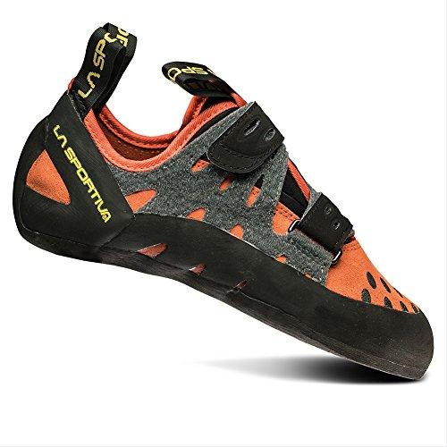 La Sportiva Men's Tarantula Beginner Rock Climbing Shoe, Flame, 39 M EU