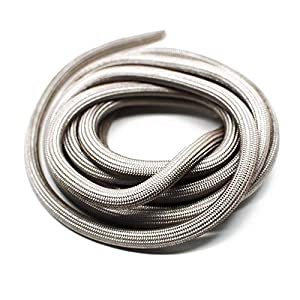 Junta para chimenea de 3 m, diámetro de 9,5 mm, junta de cordón hueco no autoadhesiva, apta para chimenea Justus y…