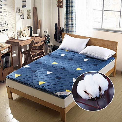 Save %12 Now! Japanese Futon Mattress, Tatami Mat Portable Camping Mat Sleeping Mat for Kids Foldabl...