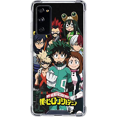 Skinit Clear Phone Case Compatible with Galaxy S20 FE - Officially Licensed Funimation My Hero Academia Design