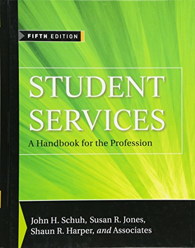Student Services A Handbook For The Profession