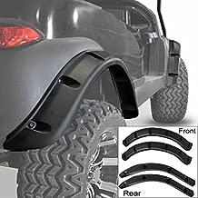 Golf Cart Fender Flares Front Rear for Club Car Precedent (Set of 4)