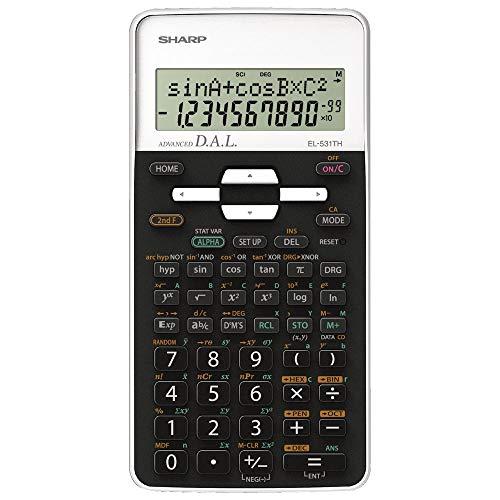 Sharp sh-el531thbwh Wetenschappelijke rekenmachine
