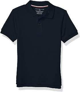 Tommy Hilfiger Unisex-Child Boys Short Sleeve Interlock Co-ed Kids Polo Short Sleeves Polo Shirt