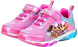 Nickelodeon Girls' Paw Patrol Sneakers - Laceless LED Light Up Running Shoes (Toddler/Little Kid), Size 8 Toddler, Pink Purple