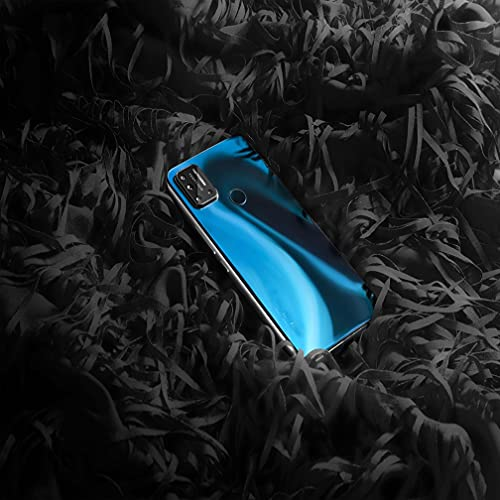 SanSiXing Útil Conveniente y fácil de Usar Dual Desbloquear Dual 4G Android 10 Smartphone Dar un Regalo (Color : Blue, Size : 128GB)
