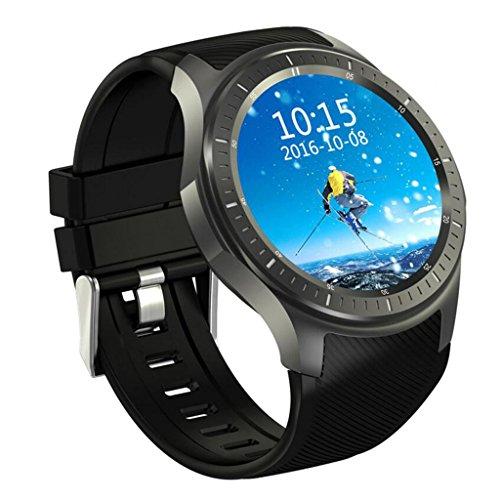 Smart Watch AMOLED volledig rond scherm Android 5.1 WiFi / GPS / 3 G oproepen/hartslagbewaking