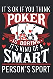 Funny Poker Smart Sport Gambling Exas Hold Em Card Game Premium: Daily Planner - Undated Daily Planner for Staying on Track