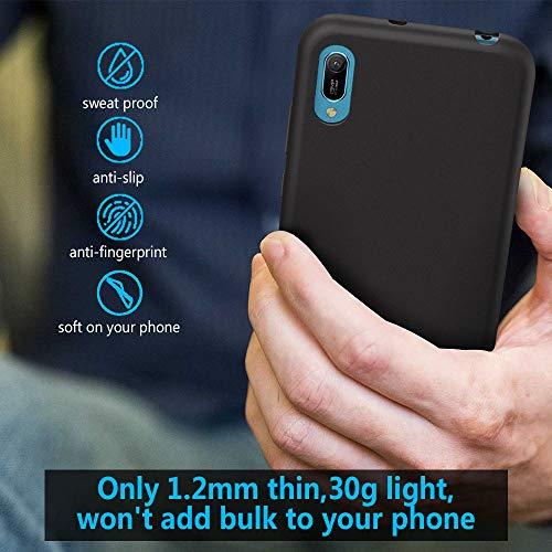 GeeRic Kompatibel Für Huawei Y6 2019 Hülle, Ultra Thin Tasche Cover Schlank Weich Flexibel Anti-Kratzer Schutzhülle Abdeckung Case Cover Kompatibel Mit Huawei Y6 2019 Smartphone