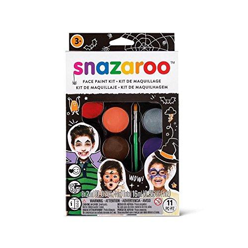 "Snazaroo kit de pintura facial, maquillaje fiesta ""Halloween"" ✅"