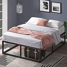 Zinus Joseph 14 Inch Metal Platforma Bed Frame / Mattress Foundation / Wood Slat Support / No Box Spring Needed / Sturdy Steel Structure, Queen