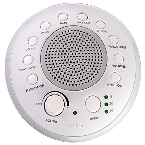 SONEic - Sleep, Relax and Focus Sound Machine. 10 Soothing White Noise and...