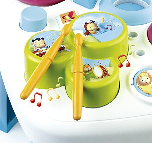 Smoby - 211169 - Cotoons Table D'Activités - Jeu d'Eveil - Fonctions Electroniques...