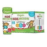 Orgain Organic Kids Protein Nutritional Shake, Strawberry - Great for Breakfast & Snacks, 21...