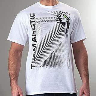 Arctic Cat Mens Team Arctic Cathead T-Shirt – White, 2XL