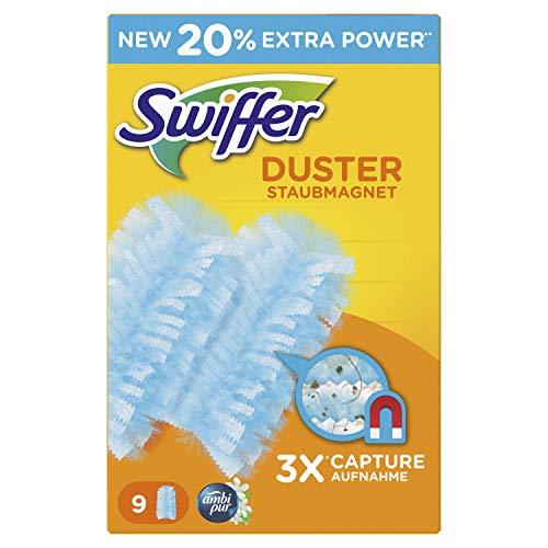 Swiffer Duster Ambipur Piumino Catturapolvere, 9 Ricariche