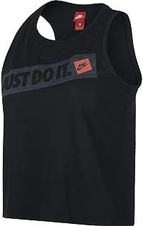 Women's Sportswear Bumper Sticker Crop Tank Top