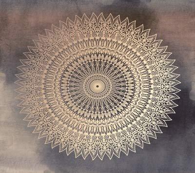 N / A Mandala Tapiz Colgante de Pared Alfombra decoración del hogar para Sala de Estar Dormitorio Toalla de Playa alfombras de Pared A3 95 x 73 CM