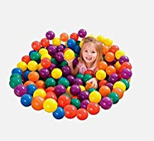 100pcs Colorful Sea balls Soft Plastic Ocean balls Funny Baby Kid Swim Pit Toy Outdoor Indoor Baby Playing Toy balls