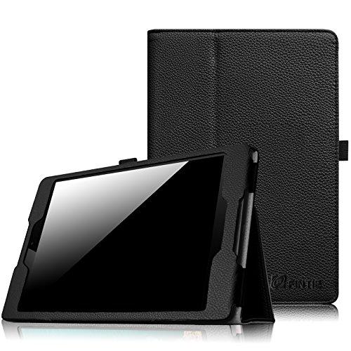 Fintie HTC Nexus 9 Folio Hülle Case - Slim Fit Kunstleder Schutzhülle Tasche Etui Cover mit Standfunktion & [Auto Sleep/Wake] Funktion for HTC Nexus 9 (8,9 Zoll) Tablet-PC by Google, Schwarz