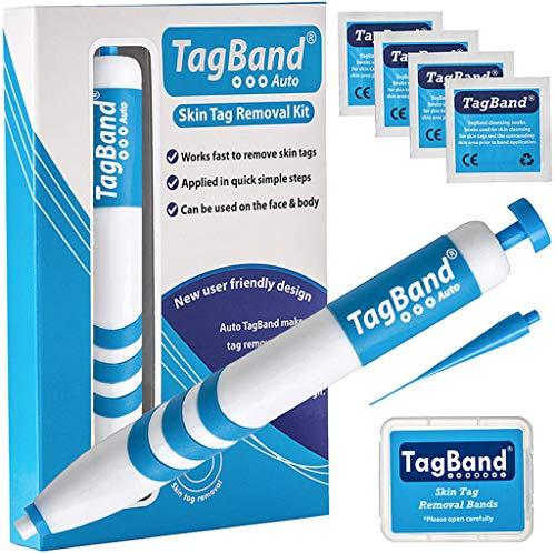 Quitaacrocordones, de TagBand, para eliminar fibromas blancos medianos y grandes