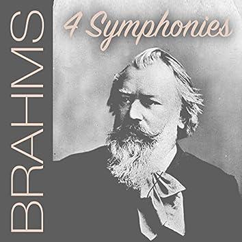Columbia Symphony Orchestra & Bruno Walter - Brahms: 4 Symphonies