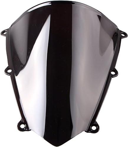 wholesale Mallofusa Black discount Windshield Windscreen for online Honda 2007-2011 CBR600RR f5 Double Bubble online