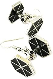 Star Trek USS Enterprise Dangle Earrings w//gift box from Outlander