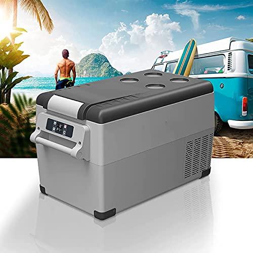 NMSLA 35L portátil refrigerador compresor Coche refrigerador Pantalla LCD congelador portátil Mini refrigerador Coche refrigerato refrigerador refrigerador comprimido compresor rápido enfriamiento