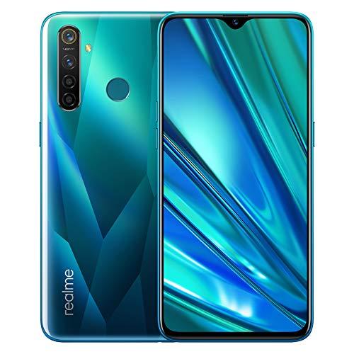 realme 5 Pro Smartphone Cellulari, 6.3 '' Snapdragon 712AIE Octa Core 48MP AI Quad Camera 4035mAh, Dual Sim, Versione Europea (4GB+128GB, Verde)