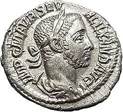 1000 IT Severus Alexander AR Ancient Roman Coin Mars Poss coin Good
