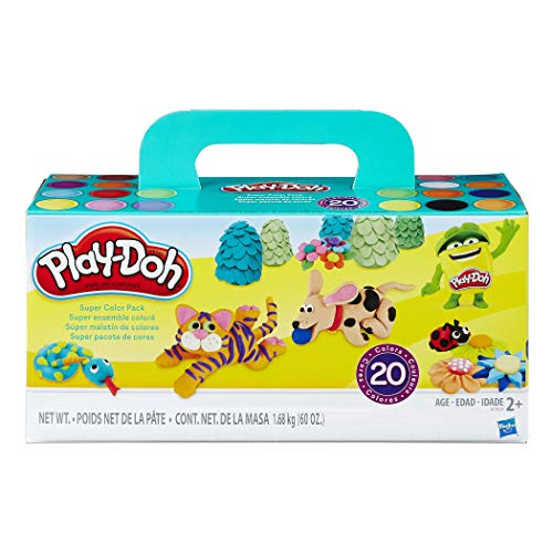 Play-Doh HG-A7924 Super Color Pack (Pack of 20)