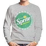 Sprite Enjoy Lemon Lime Retro Bottlecap Men's Sweatshirt