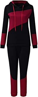 Cimaybeauty Europe and The United States Autumn and Winter Women Sports Suit Two-Piece