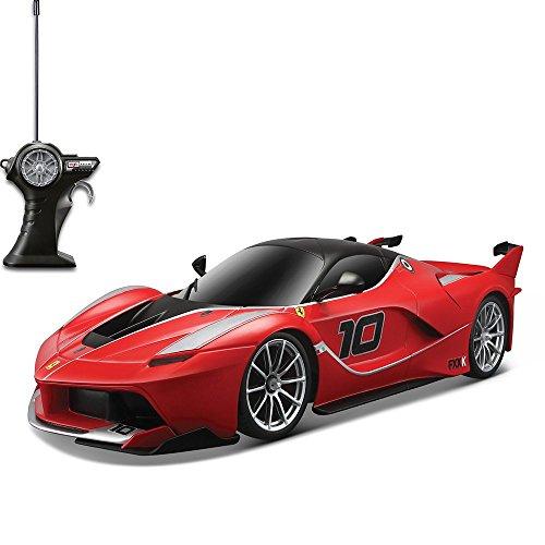 Bburago Maisto France - M81274 - Véhicule radiocommandé - Ferrari FXXK RC - Échelle 1/14 , Coloris Aléatoire