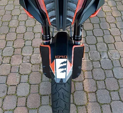 Front Fender Protection 3D-Aufkleber kompatibel für Moto KTM 1090 Adventure