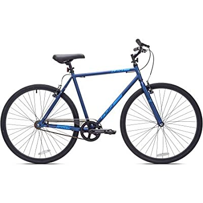 700c Men's Kent Fixie Bike | Steel Frame and Fork - Steel Rise Stem