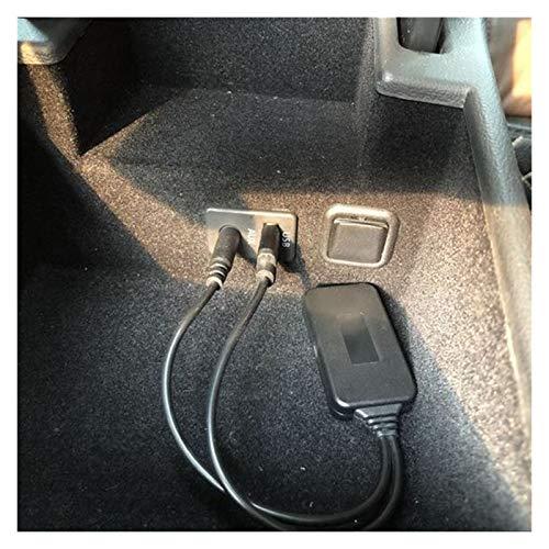 NERR YULUBAIHUO Ajuste para BMW E90 E91 E92 E93 Adaptador Bluetooth Radio Aux Accessories Wireless