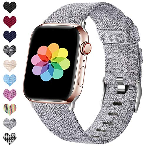 HUMENN Compatible Apple Watch Correa 38mm 40mm 42mm