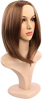 Hairpieces Hair Extension Black Women's Wigs are Comfortable and Smooth. Hair Weave (Color : Light Brown, Size : Free)